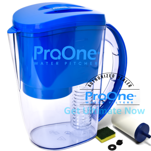 ProOne Water Filtered Water Pitcher