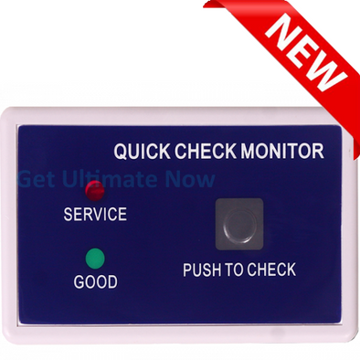 HM Digital QC-1 Quick Check TDS/Conductivity Push-To-Test Monitor with Set Points, +/- 3% Accuracyget-ultimate-now.myshopify.com