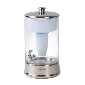 Zerowater 40 Cup Glass Water Dispenser with Filter