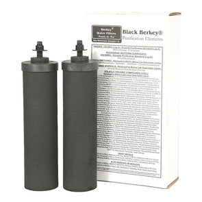 Berkey BB9-2 Black Purification Replacement Elements Set of 2