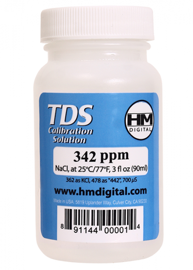 C-342 : TDS and EC Calibration Solutionget-ultimate-now.myshopify.com