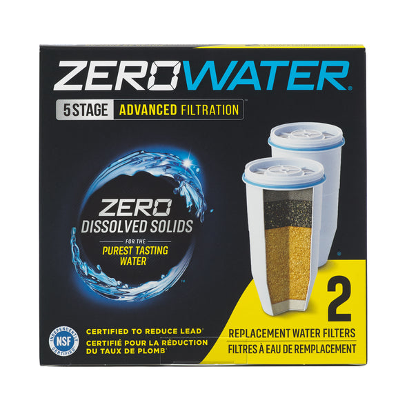 Zerowater Replacement Filter ZR-017 - 2 Packget-ultimate-now.myshopify.com