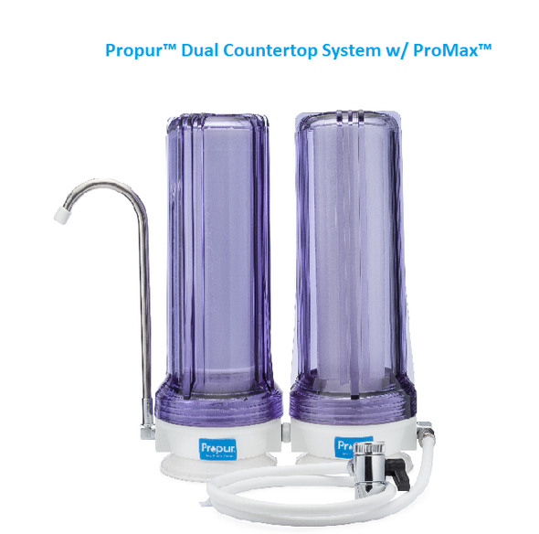 Propur Dual Counter top System with ProMax filterget-ultimate-now.myshopify.com