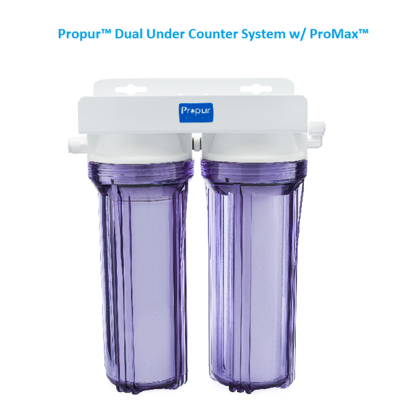 Propur Dual Under Counter System with ProMax filterget-ultimate-now.myshopify.com