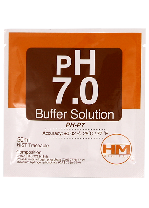 HM digital PH 7.0 Buffer solution PH-P7 (20 ml) 1-Packget-ultimate-now.myshopify.com