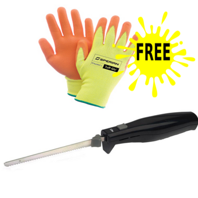 Elite Electric knife with free Sperian Cut Resistant Glove one pairget-ultimate-now.myshopify.com