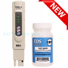 HM Digital TDS-3 TDS Handheld meter Tester + NaCl 342ppm calibration solutionget-ultimate-now.myshopify.com