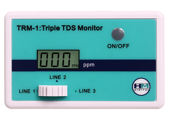 HM Digital TRM-1 TDS Meter Triple Inline TDS Monitor Test TDS Levelsget-ultimate-now.myshopify.com