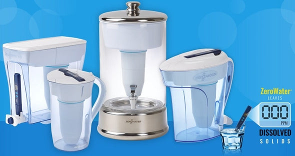 ZeroWater  Dispenser / pitcher (23 Cup, 10 Cup, 8 Cup, 6 Cup)
