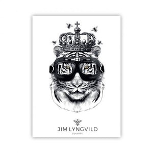 Plakat King Whiskers - 50×70 cm (1621211906142)