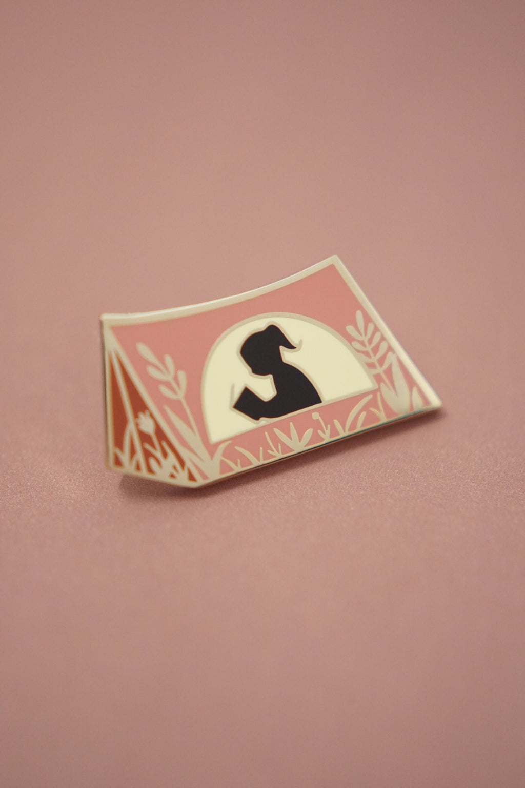 Book Scout Enamel Pin