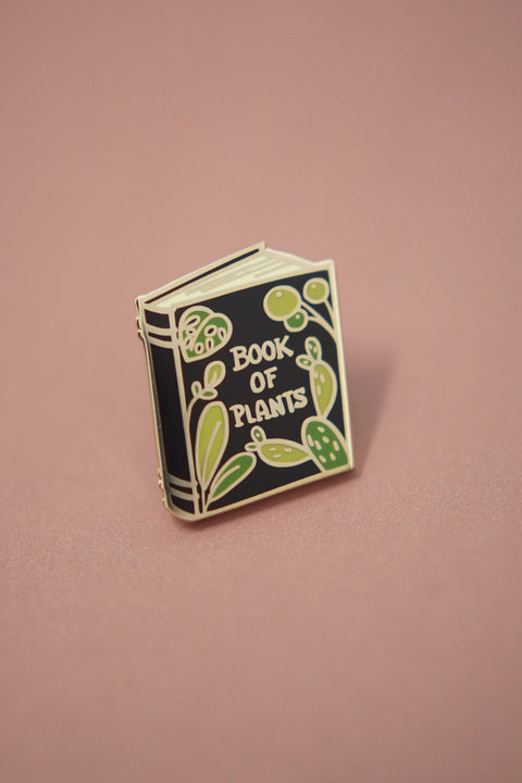 Book of Plants Enamel Pin