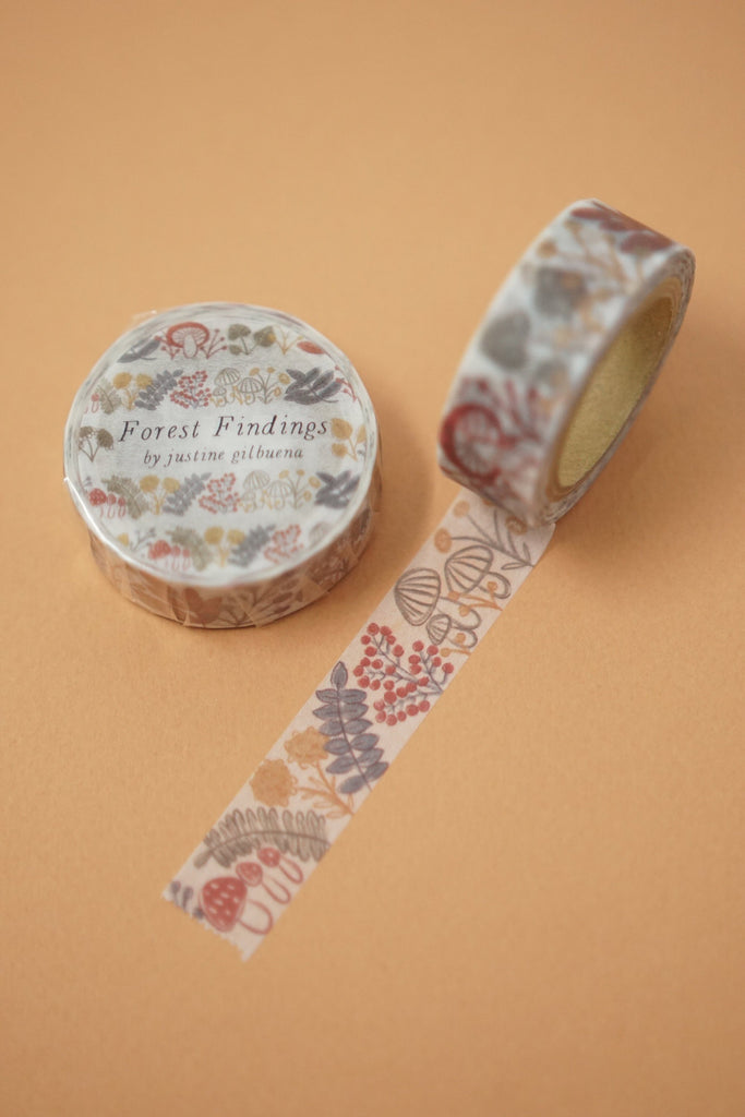 Forest Findings Washi Tape
