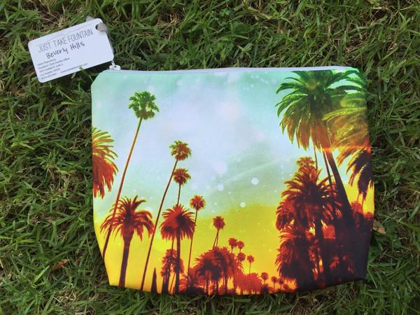 L.A. Beach Pouches - Beverly Hills