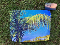 L.A. Beach Pouches - Hollywood Palms