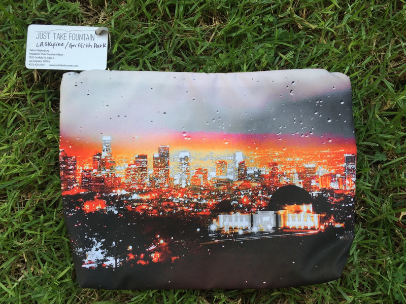 L.A. Beach Pouches - L.A. Skyline/Griffith Park