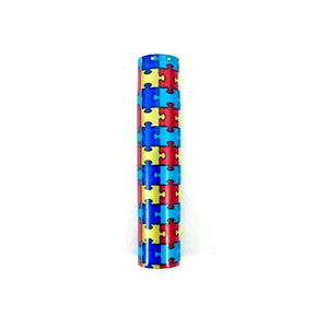 Autism Awareness Pen Blank! Pre-tubed for any Sierra and Slim-Line Style Twist Pen Kits.