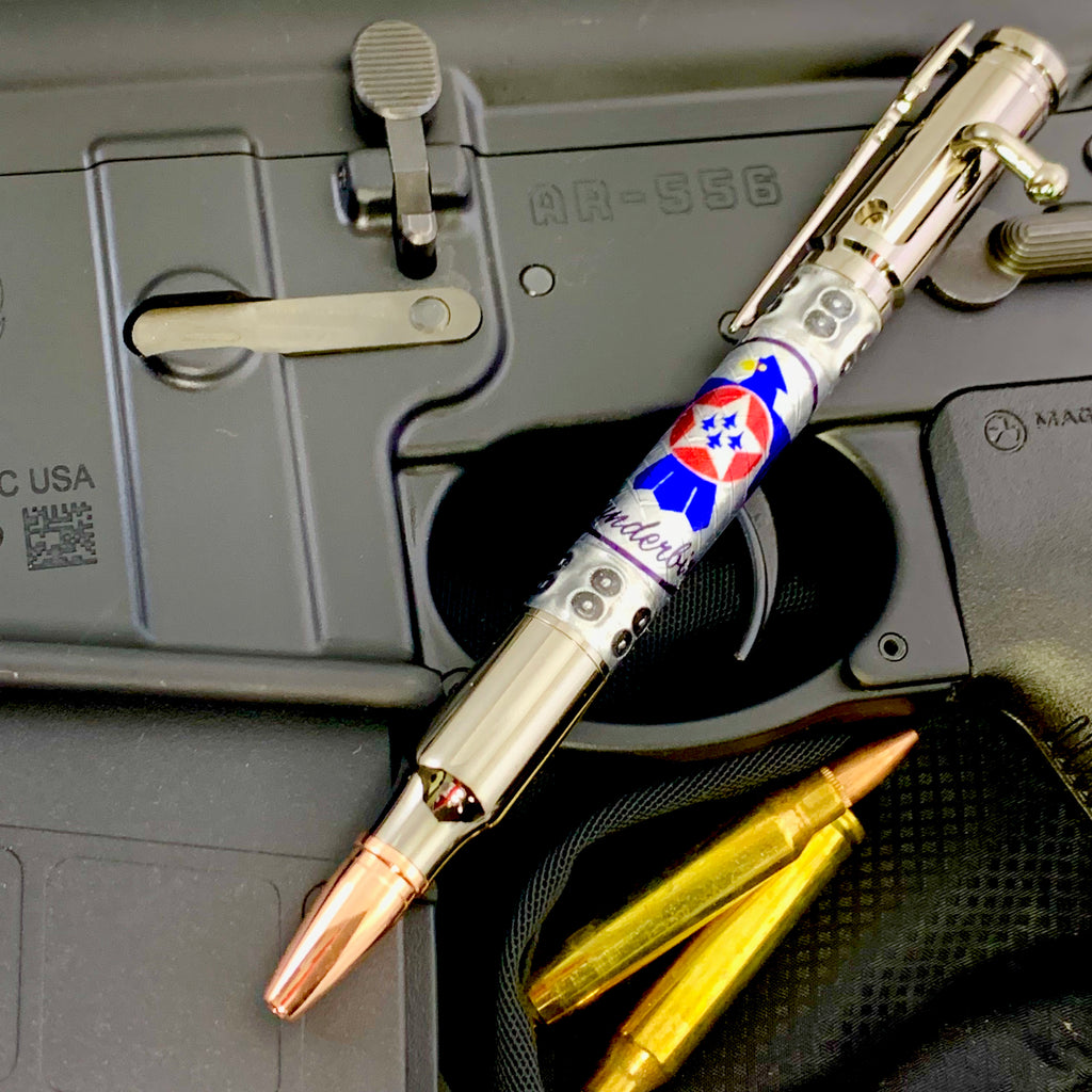 Licensed U.S. Thunderbirds Pen! Show your support for the Air Force Thunderbirds! Available in standard Bolt Action or Mag or Sierra