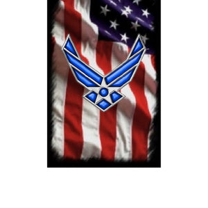 Licensed U.S. Air Force blanks! Fits the PSI Bolt Action/Mag or Sierra pen kits. Your choice of five US Flag graphics!