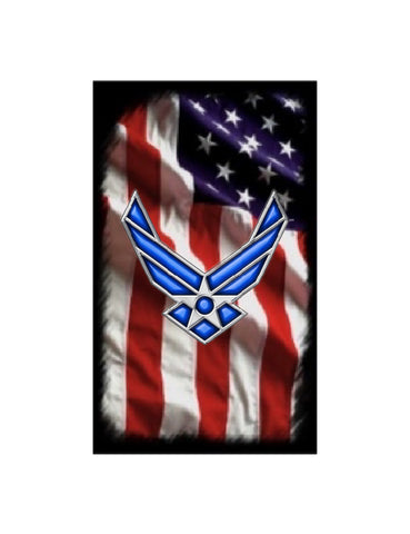Licensed U.S. Air Force blank! Fits the PSI Bolt Action/Mag or Sierra pen kits. Your choice of five US Flag graphics!