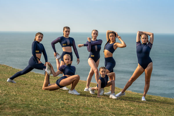 NAVY ACTIVE WEAR SHOOT