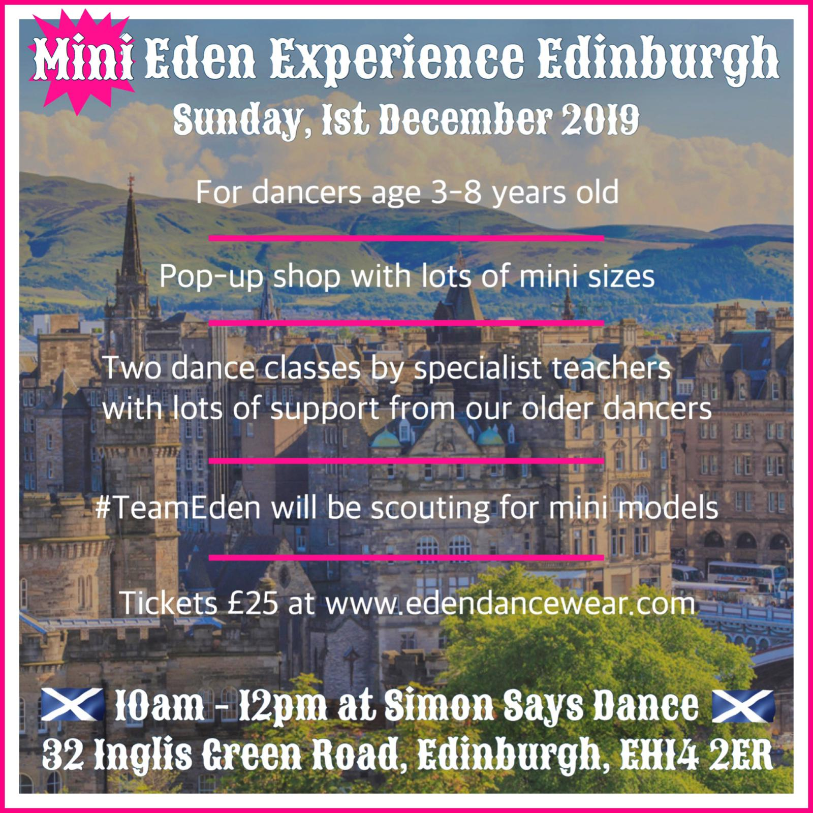 The Mini Edinburgh Eden Experience