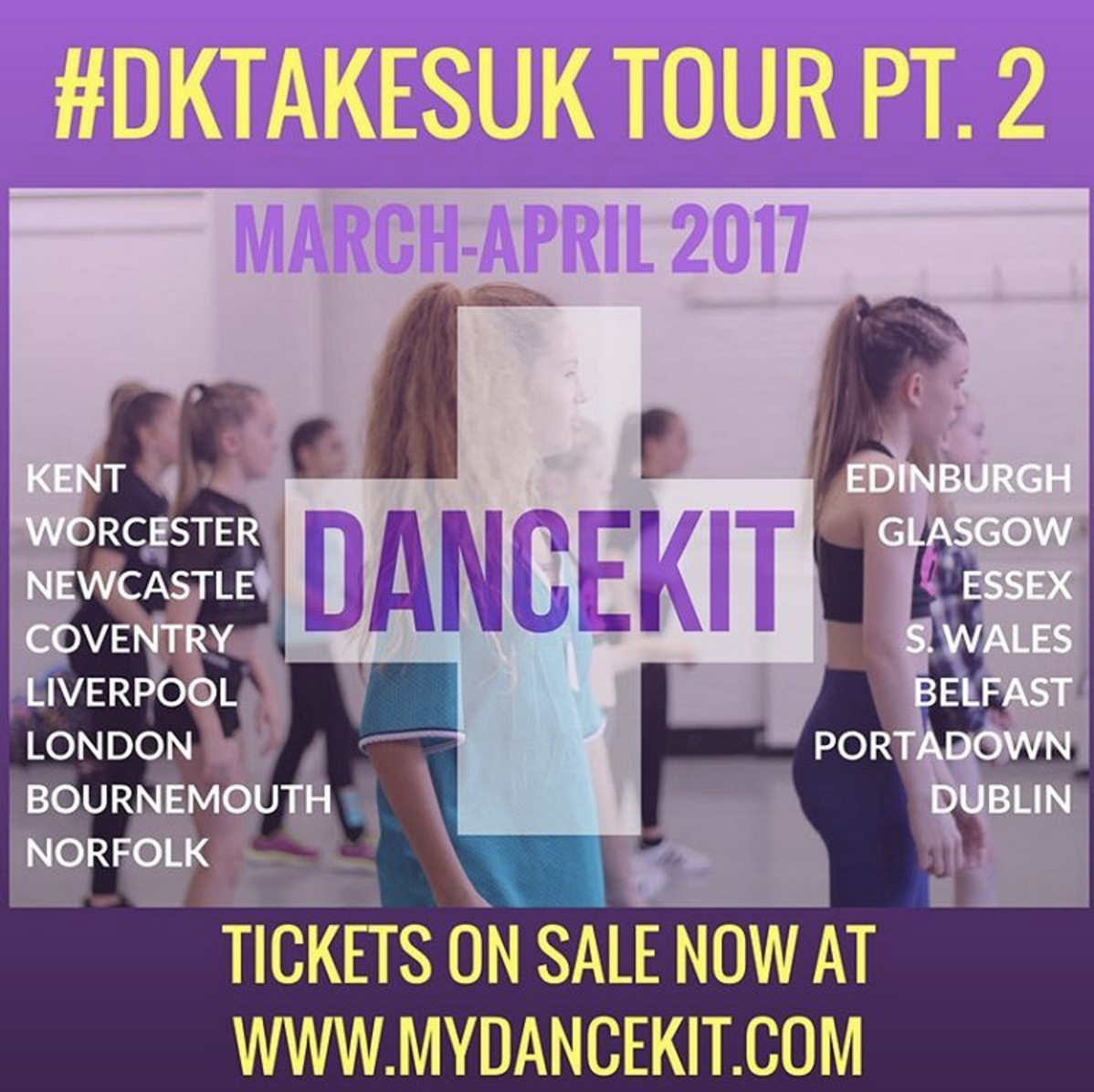 DANCEKIT UK Tour