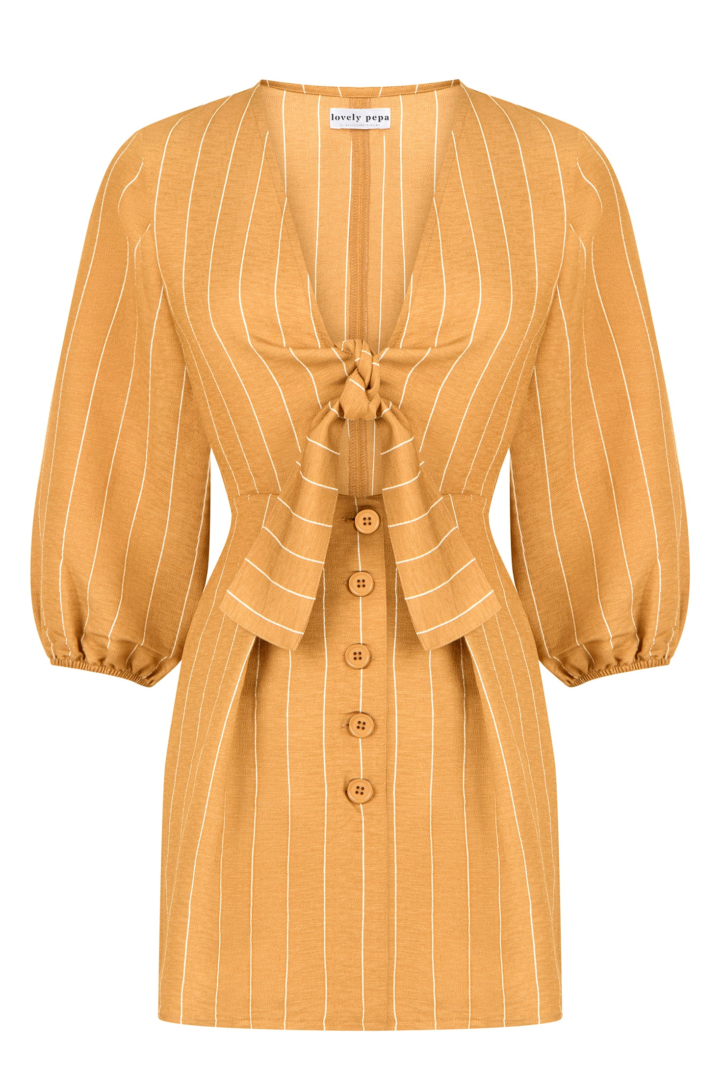 Addison Dress - Beige