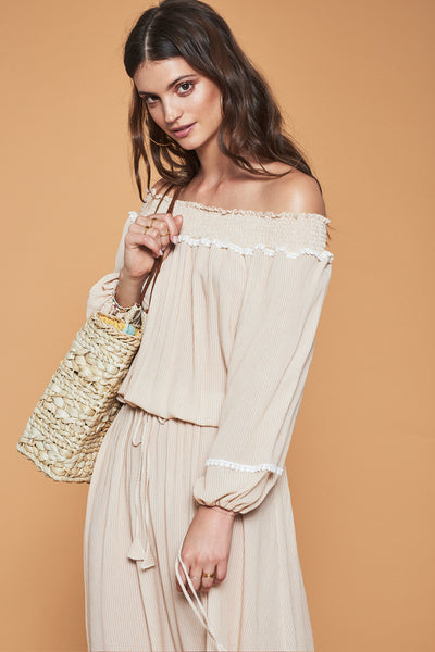 Athenas Off Shoulder Dress