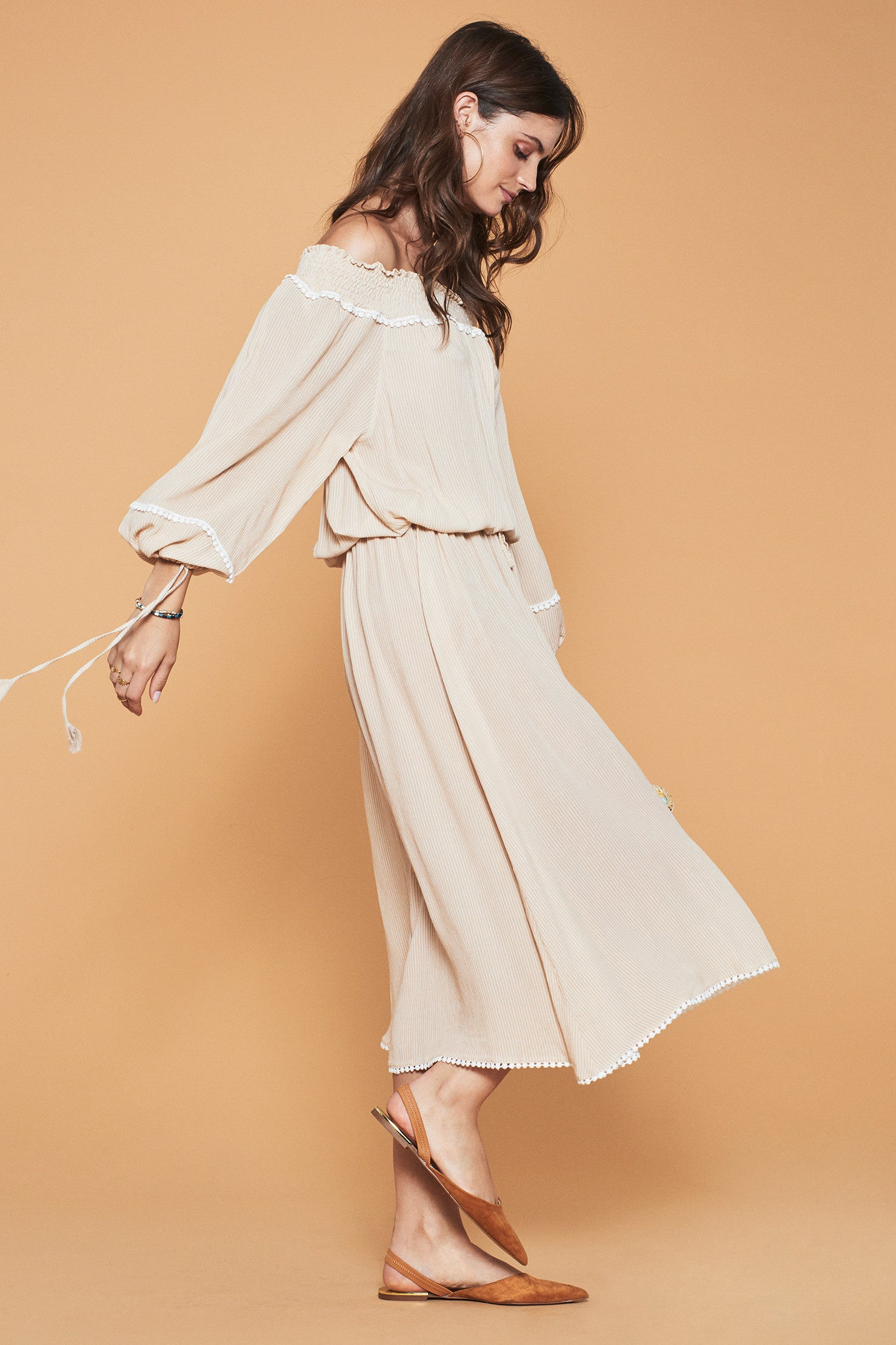 LOVELY PEPA COLLECTION Athenas Off Shoulder Dress
