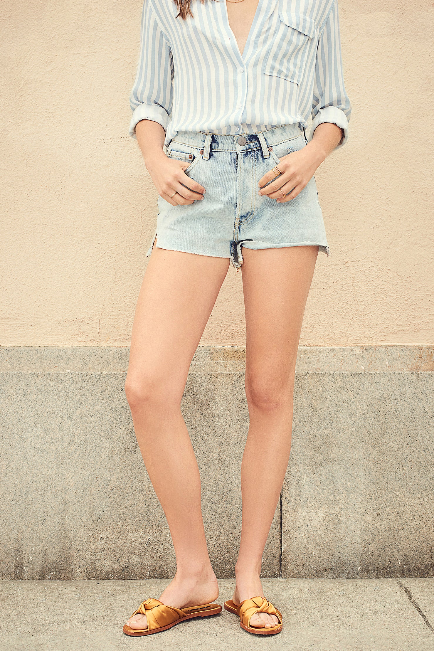 Porto Denim Shorts