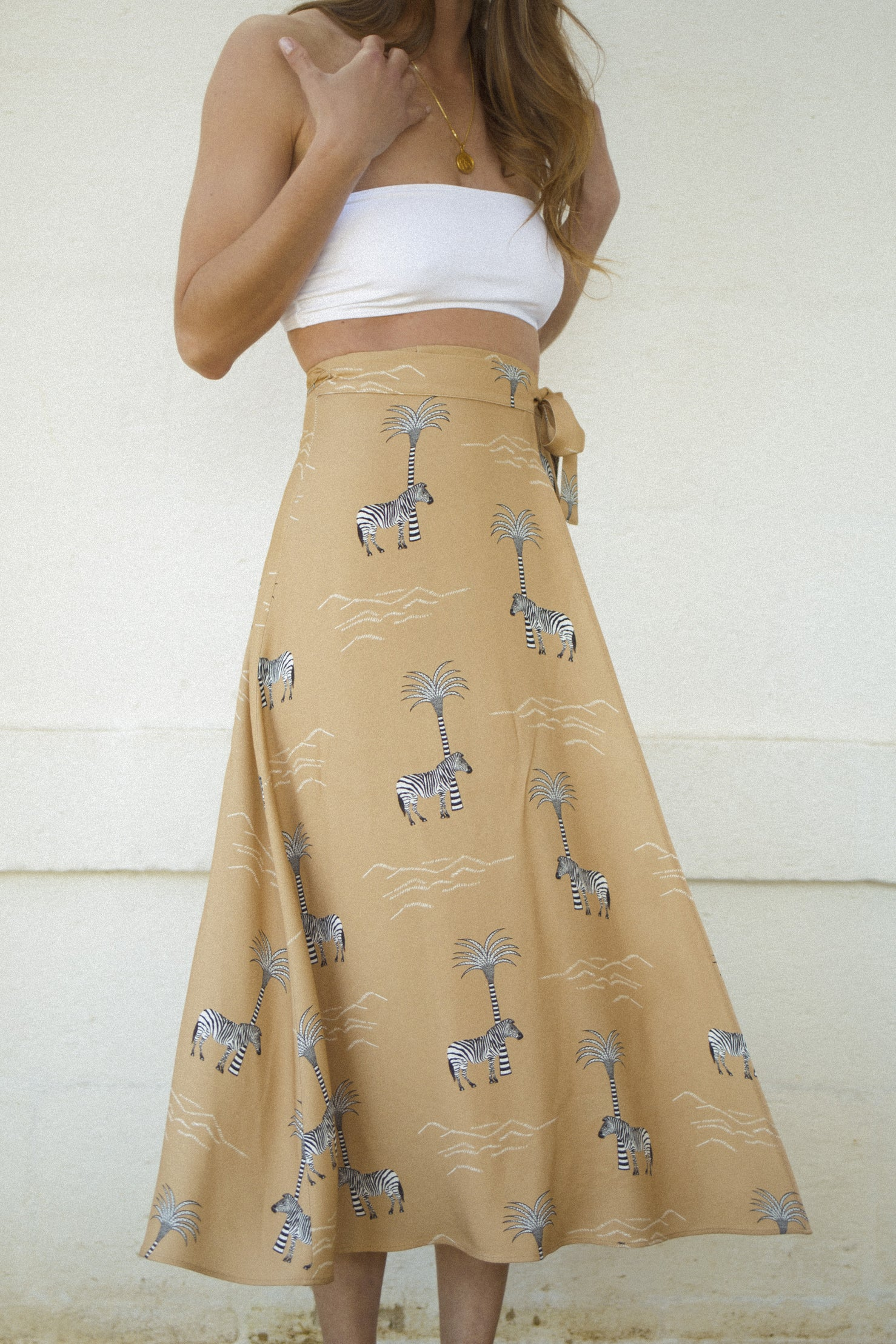 Emery Wrap Skirt
