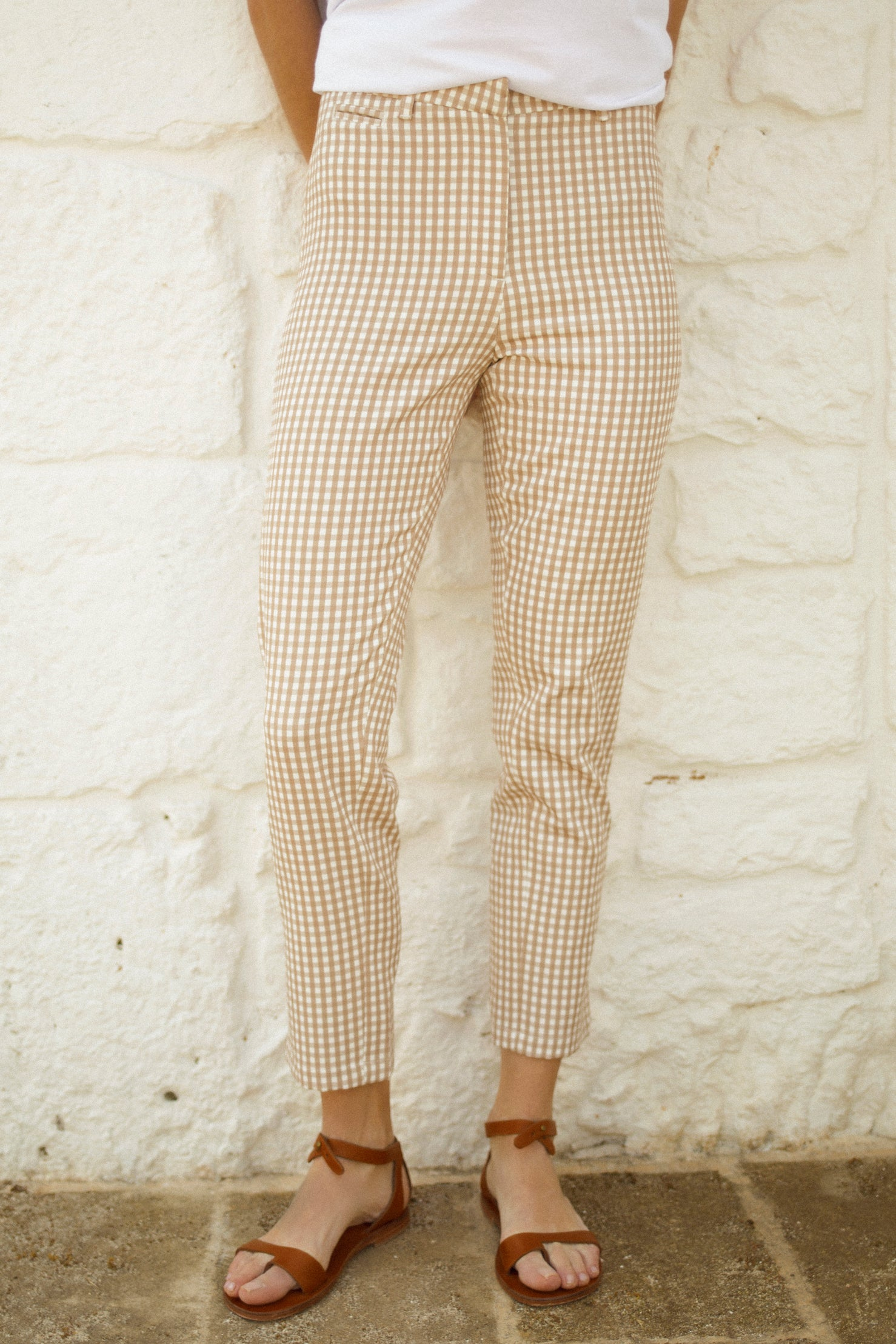 Bailey Pants - Beige