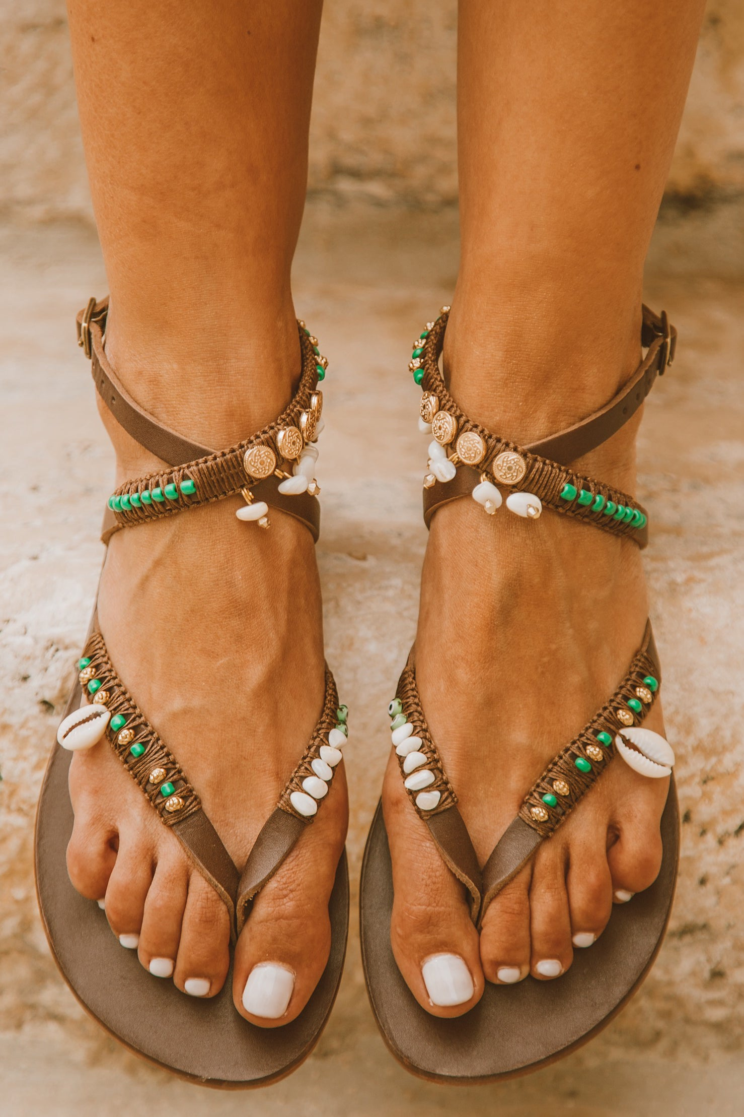 Lila Leather Sandal