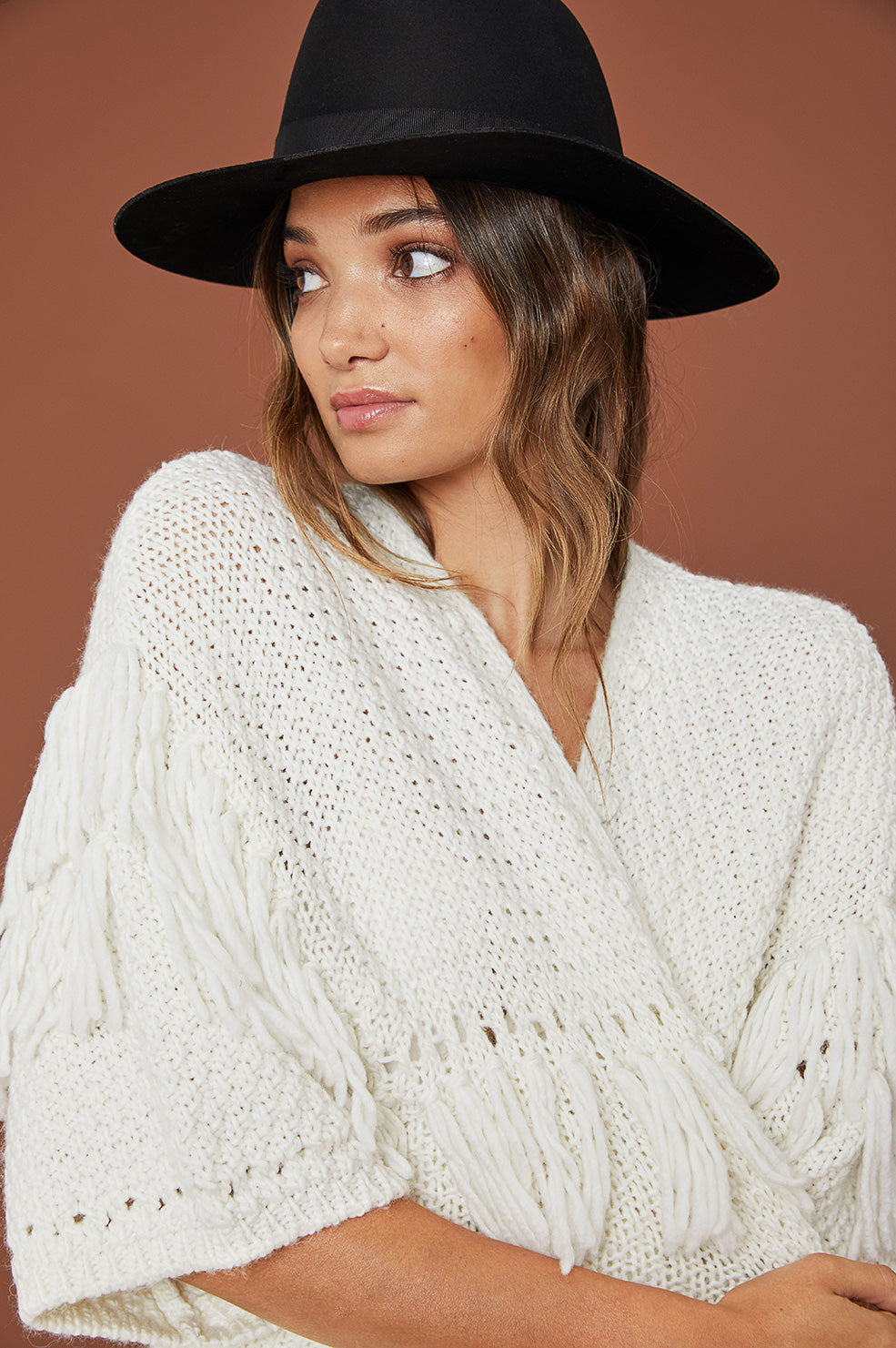Lovely Pepa Collection | White Sands Sweater