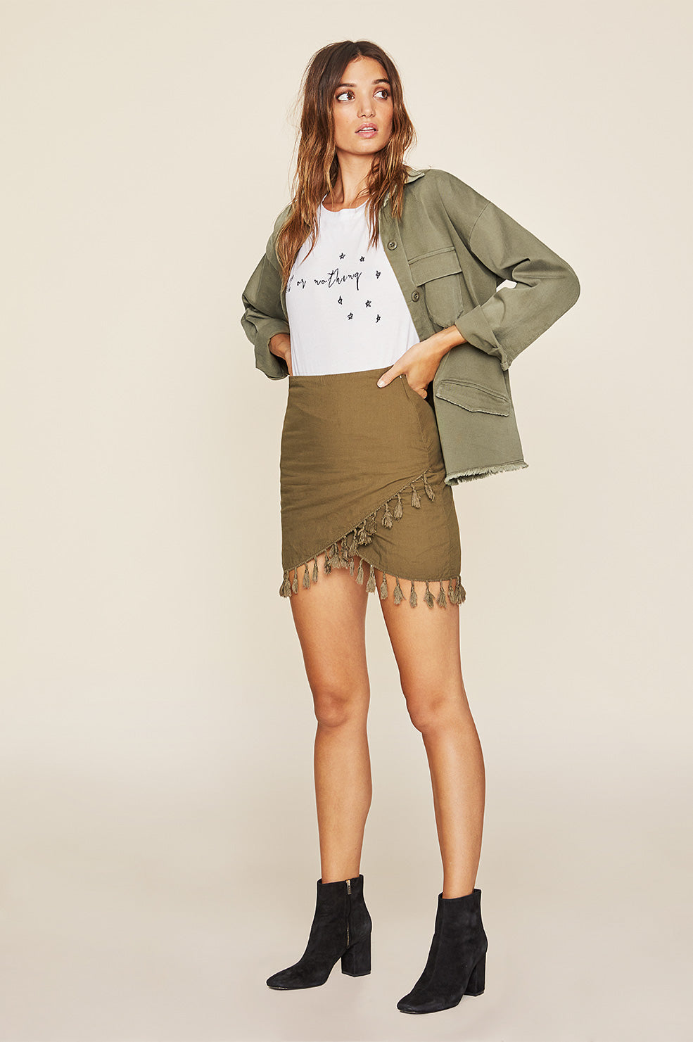 Caicos Skirt - Olive