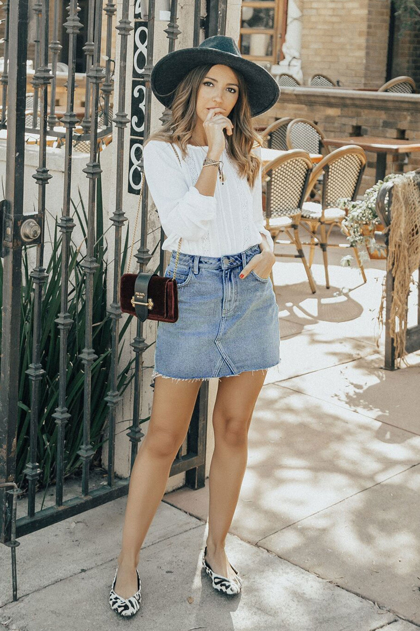 Lovely Pepa Collection | Seattle Denim Mini Skirt