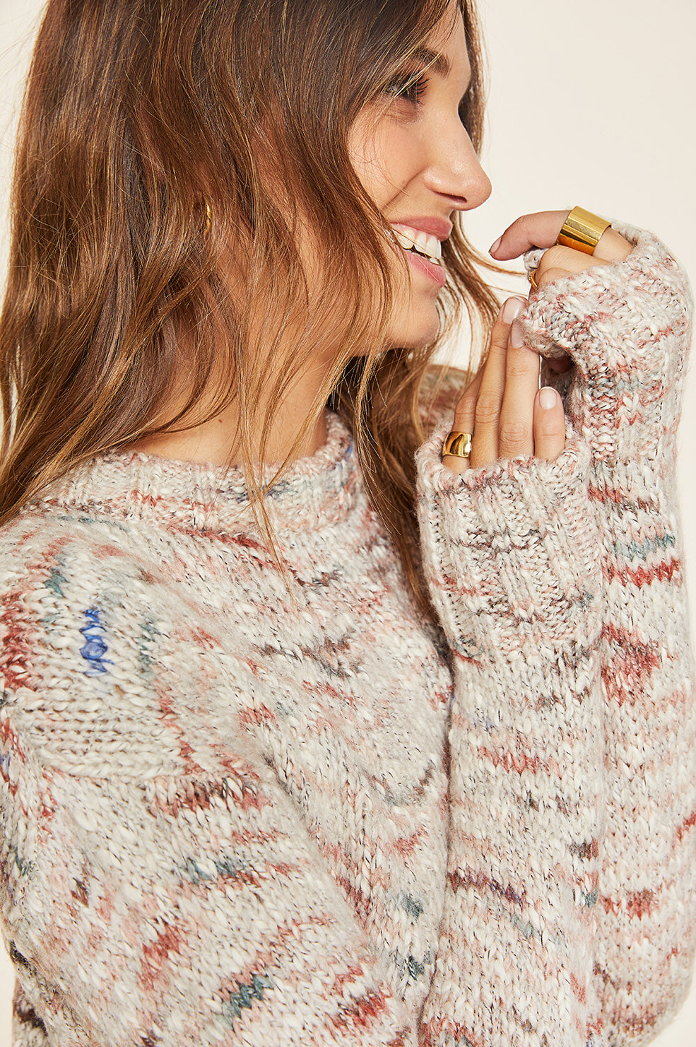 Lovely Pepa Collection | Tahoe Melange Sweater