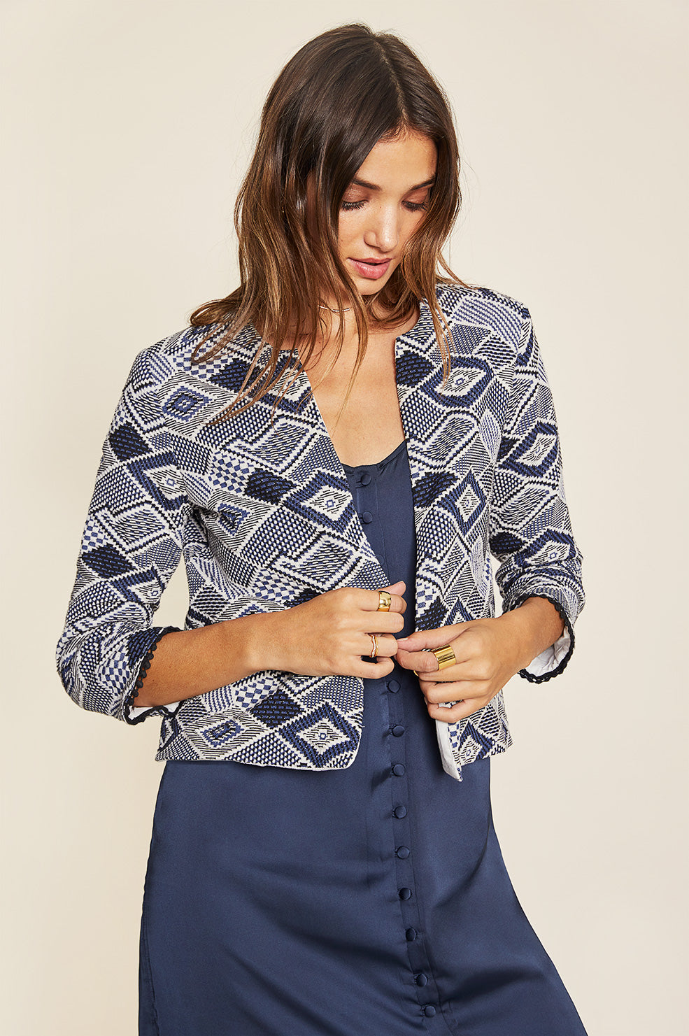 Lovely Pepa Collection | Santorini Blazer