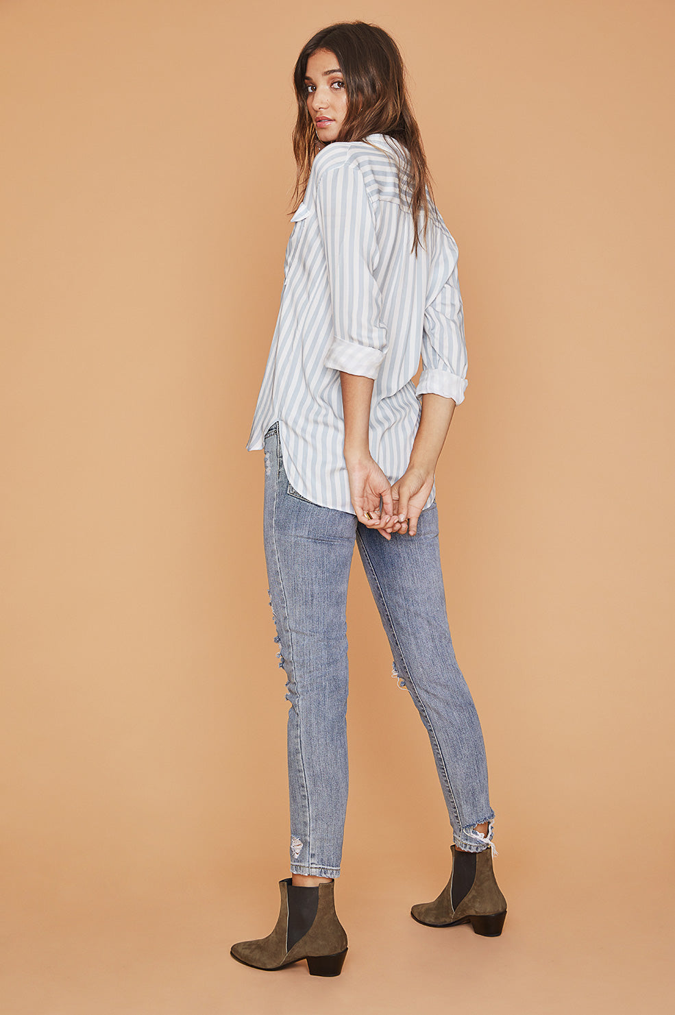 Lovely Pepa Collection | Stella Blouse in Stripes