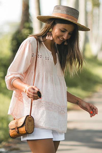 Mykonos Layered Blouse