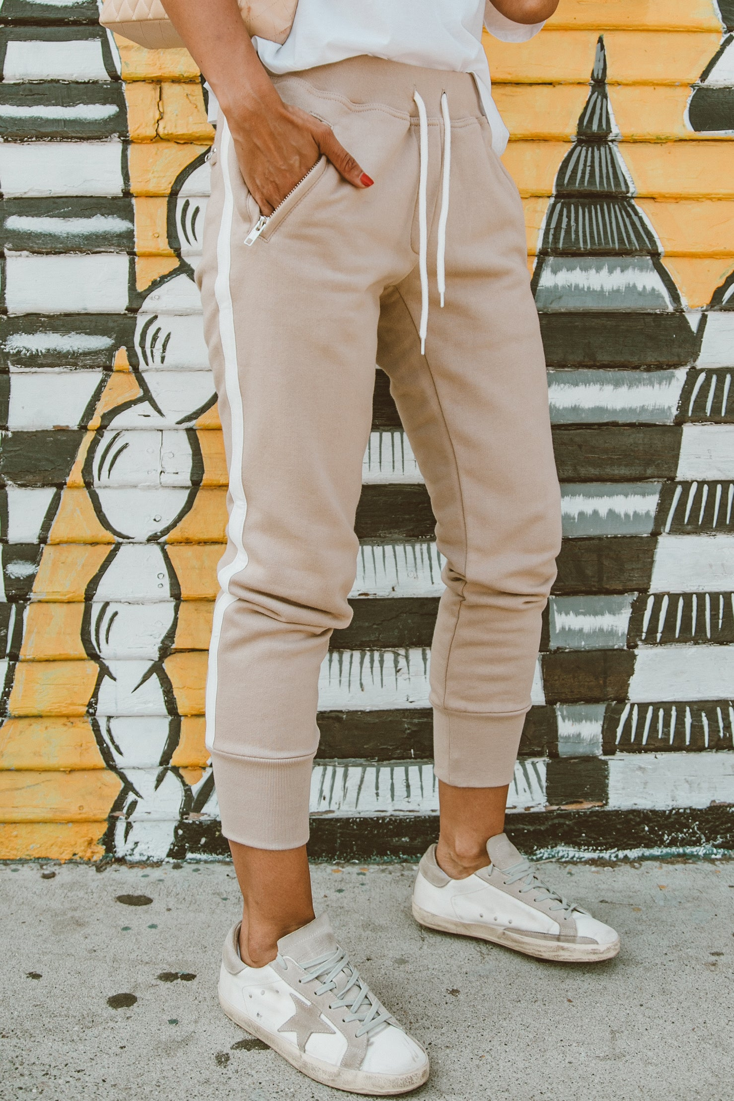Silver Lake Joggers - Beige
