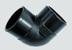 "sdr7  hdpe butt fusion 90° elbow 4""   10/box   B9"