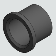 "sdr11 hdpe butt fusion flange adapter 4"" BEVELED 45 degree  B163"