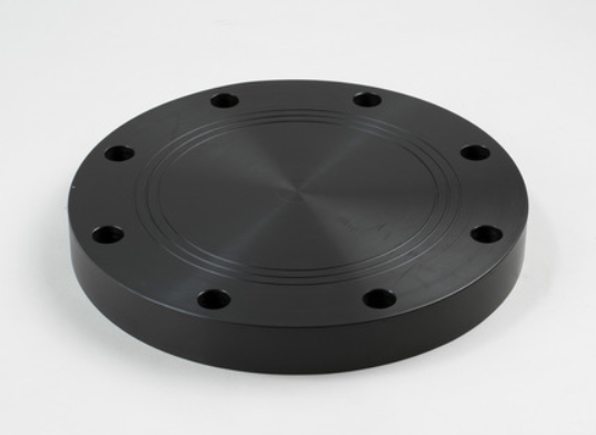 "4"" HDPE Blind Flange, non-pressure rated, 150# bolt pattern   B695"