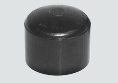"sdr11 hdpe butt fusion cap - molded 8"" 1/box  B124"