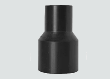 "sdr9 hdpe butt fusion reducer 1-1/2"" x 1""   B250"