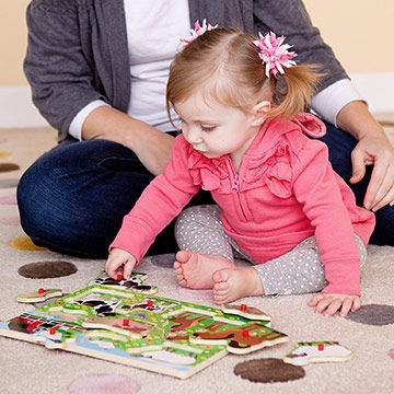 Puzzles Aid in Physical and Cognitive Development