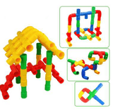 Pipeline Building Blocks Puzzle
