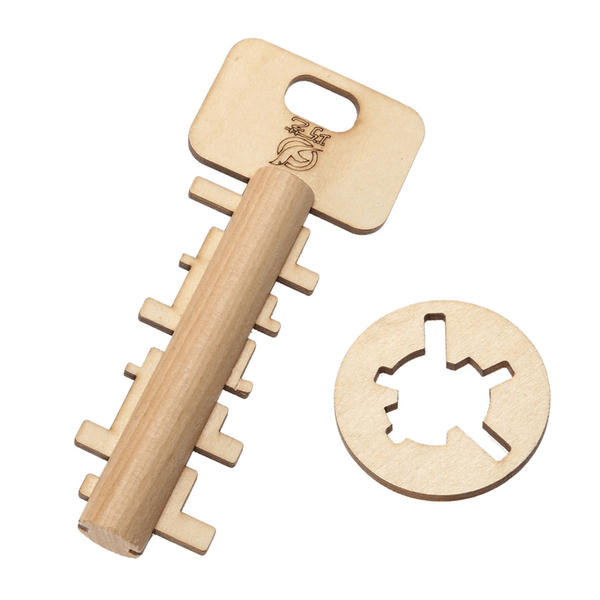 Wooden Unlock Key Educational Toys